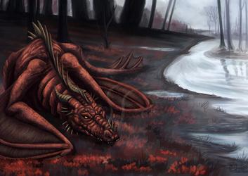 Fall Dragon