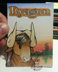 ACEO Badge Ryagon