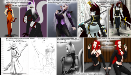 2016 Commissions Price Page CGHQ