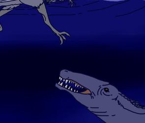 Siamosaurus Hunting