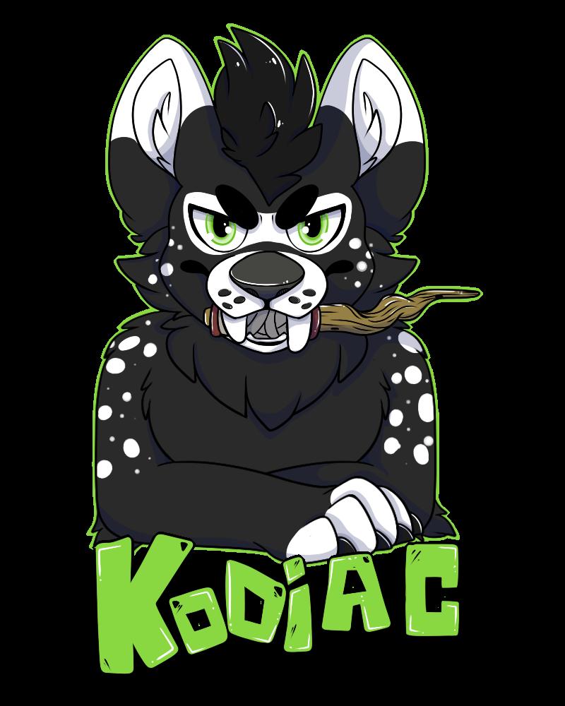 Kodiac Badge