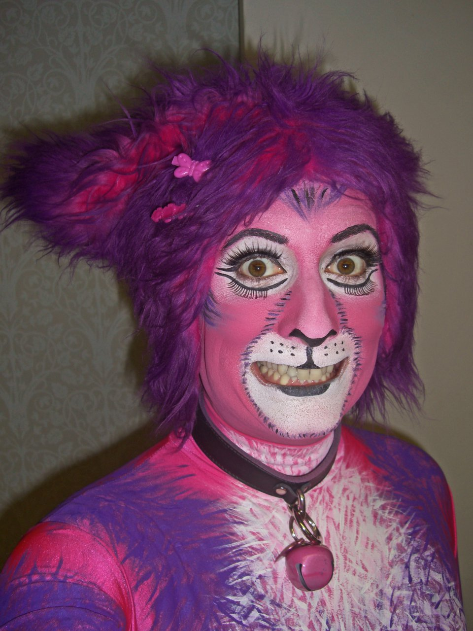 Cheshire Cat 2.0 makeup for Furnal Equinox 3/17/2012
