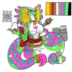 Easter Female Naga +Design 4 Sale+