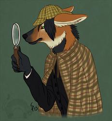 Sherlock Hustley (Art by BattleFerrets)