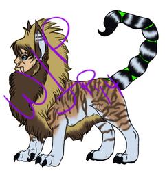 Tiger Manticore (WIP)