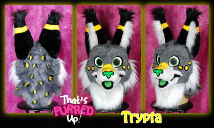 Trypta Fursuit Head