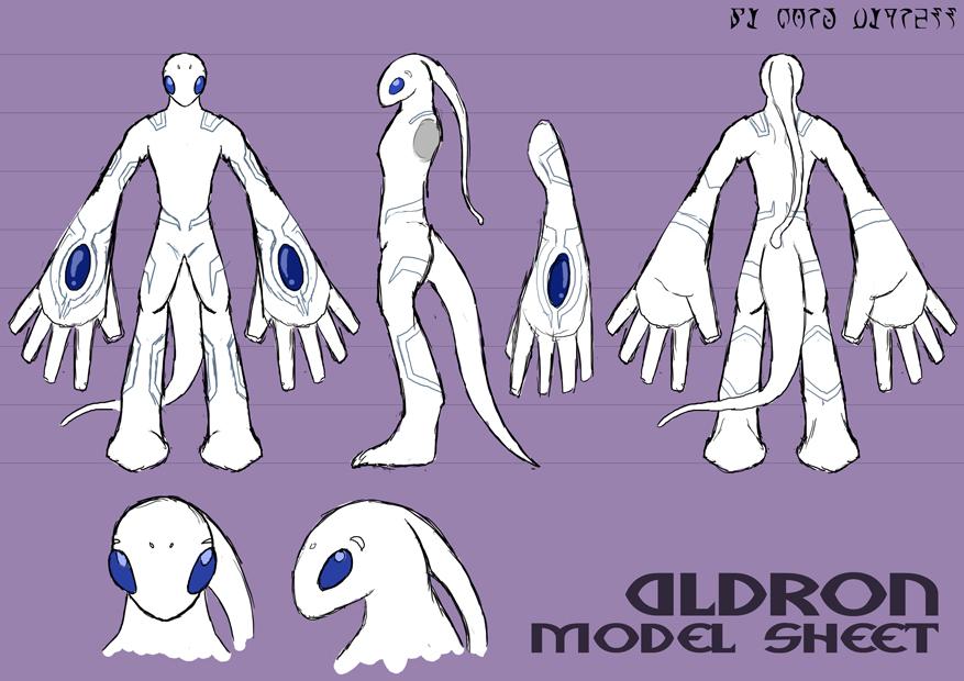 Aldron - Model Sheet