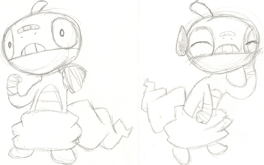 Most recent image: Sparky the Scraggy Sketches