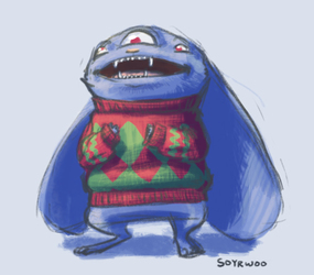 A Sweater for The Dennis