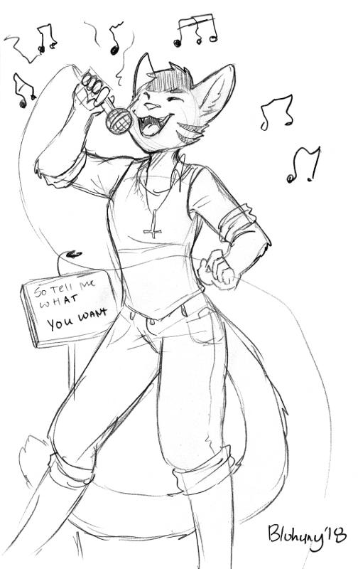 Karaoke Star Peter by BluHuny (BLFC18)