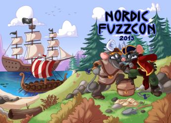 Nordic Fuzzcon 2013 conbook cover