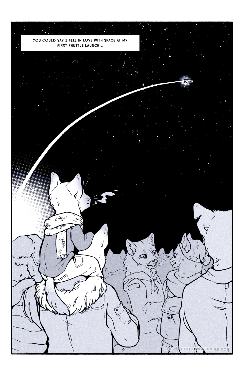 Space Cats ( Pages 1-4 )