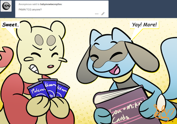 Baby Mewtwo replies question #50