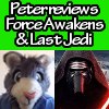 Peter the Cat Reviews The Force Awakens & The Last Jedi