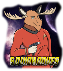Squidhooves - Badge