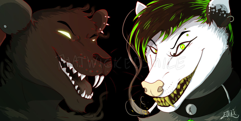 Delph and Tyde [Icon Commission]
