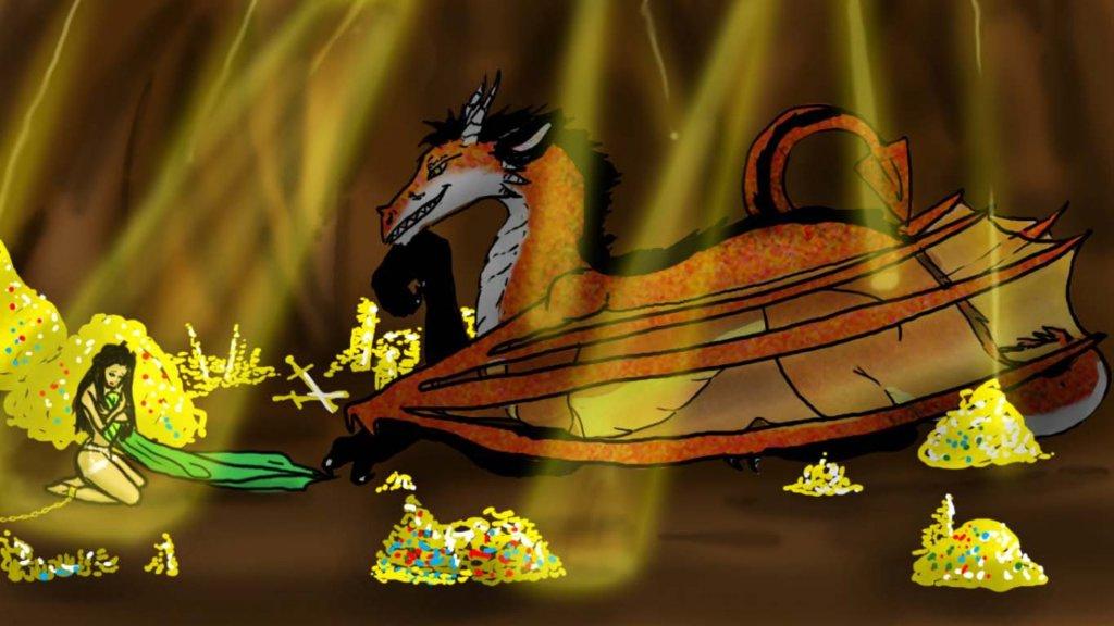 Ulver as dragon.