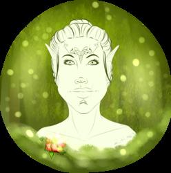 Free Sketch 9 - Roan Lavellan