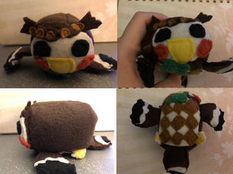 Animal Crossing New Horizons Blathers Stacking Plush Gift