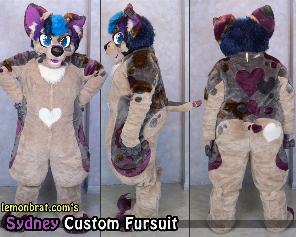Sydney Custom Fursuit