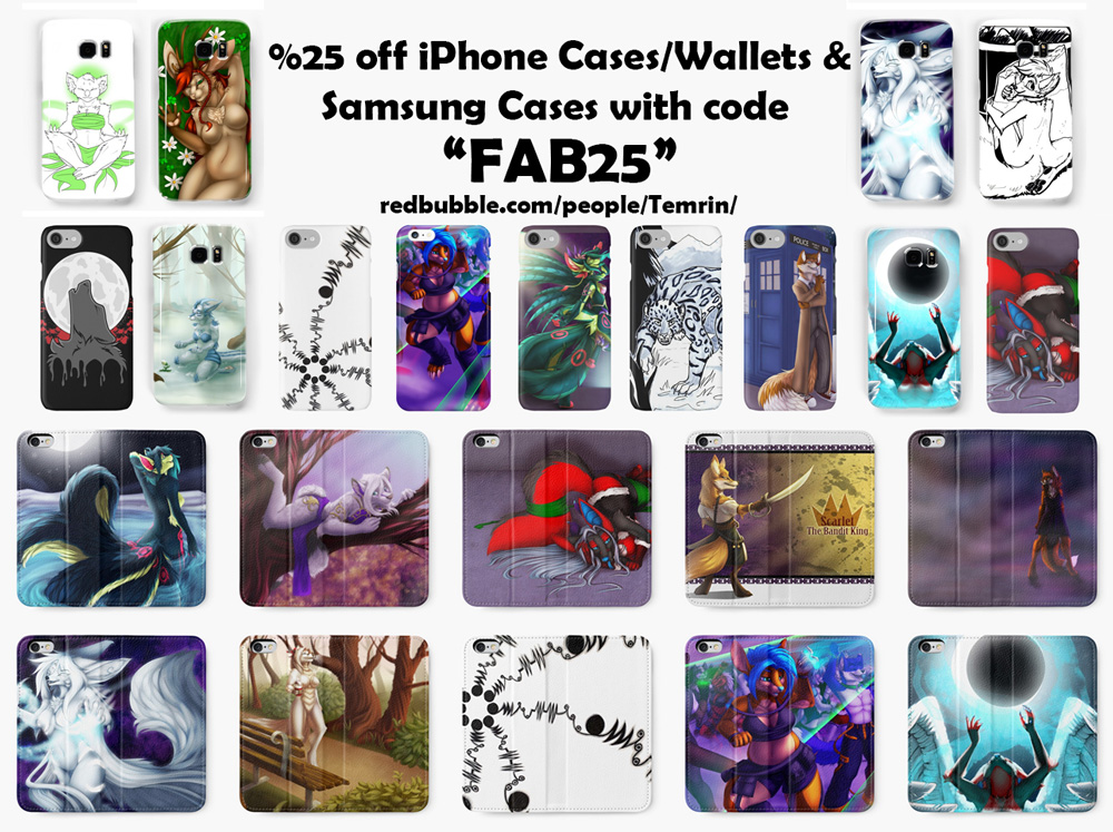 Most recent image: %25 off Phone Cases/Wallets!