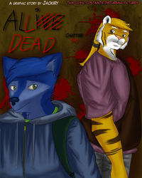 """""""All Dead: chapter two"""" comic - cover."""