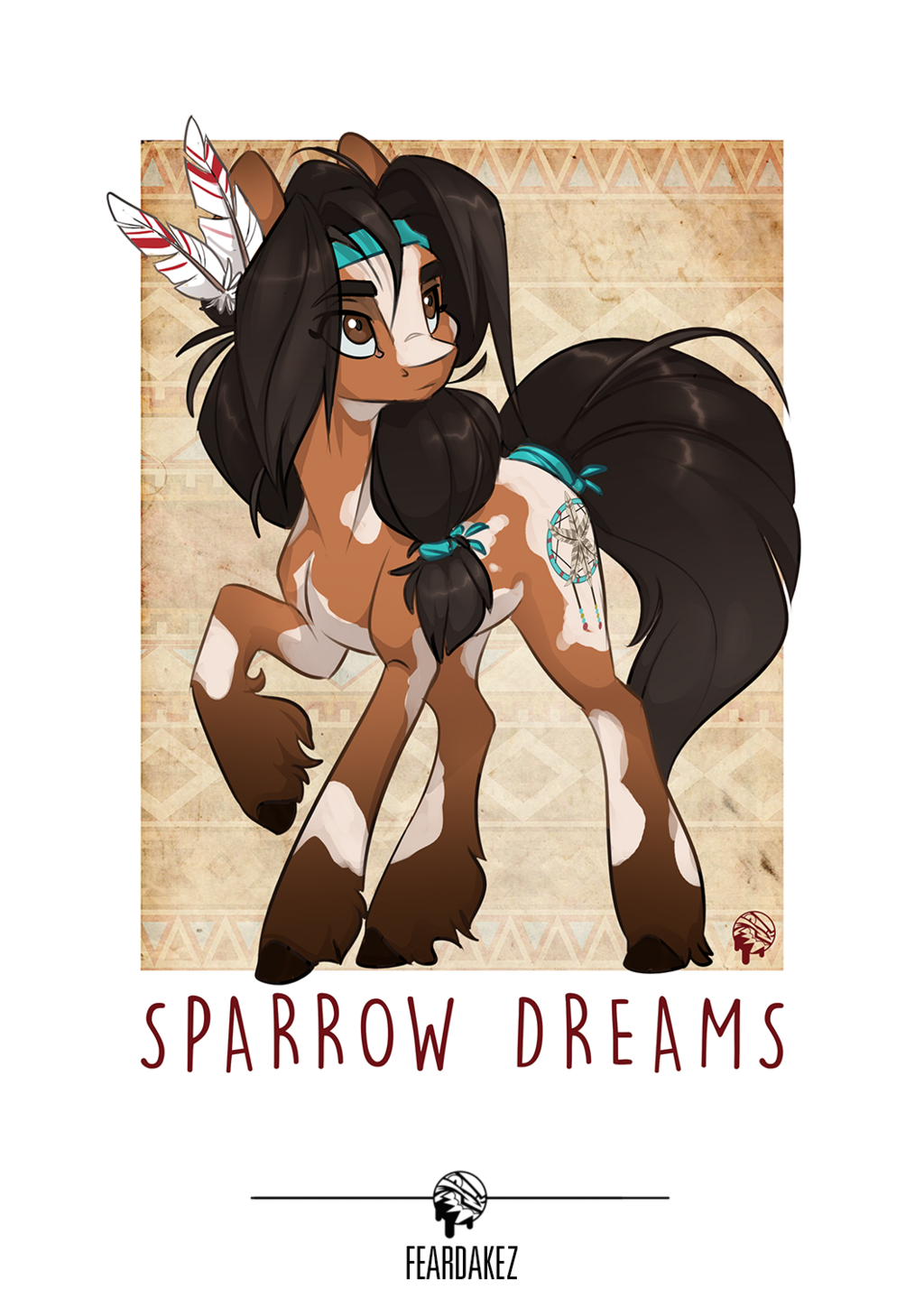 COMMISSION | Sparrow Dreams | FEARDAKEZ