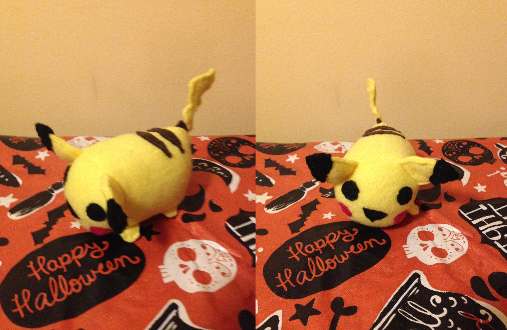 Pikachu Tsum - Commission for AmonWedgie