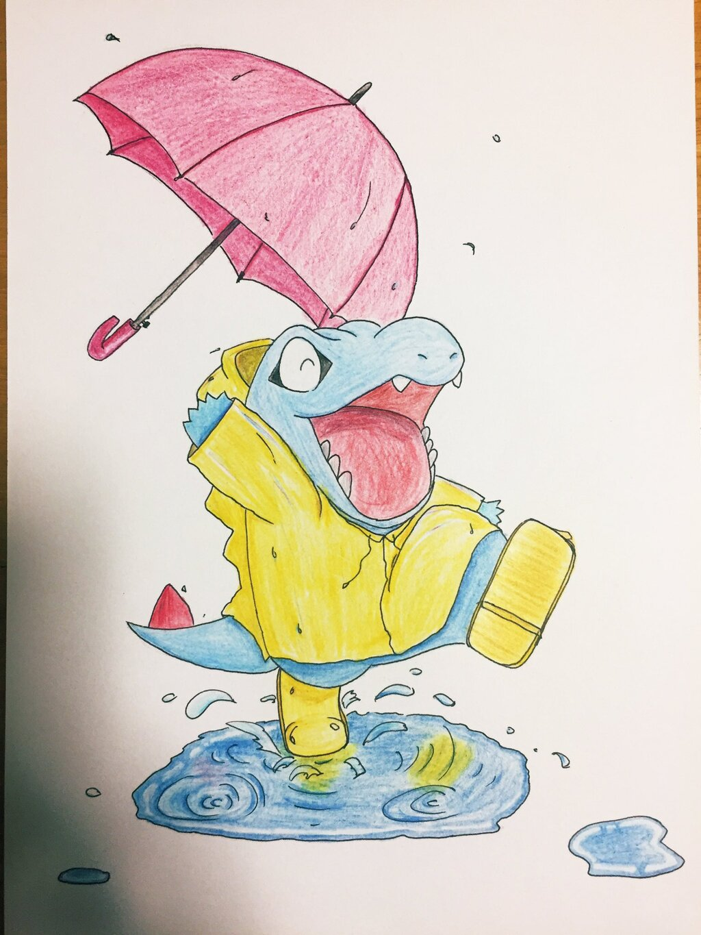 Most recent image: Totodile's Welly Dance