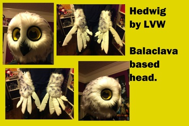 Hedwig snowy owl partial