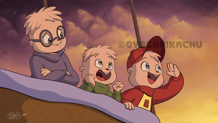 Alvin and the Chipmunks - Off to See the World