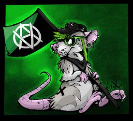 .: Veganarchist rat.