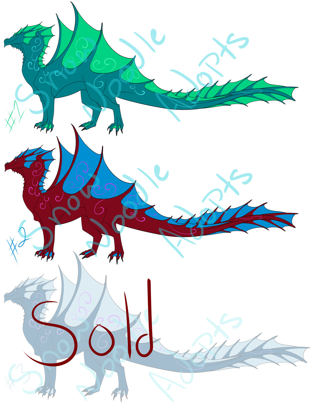 Deepriver dragon adopts $20