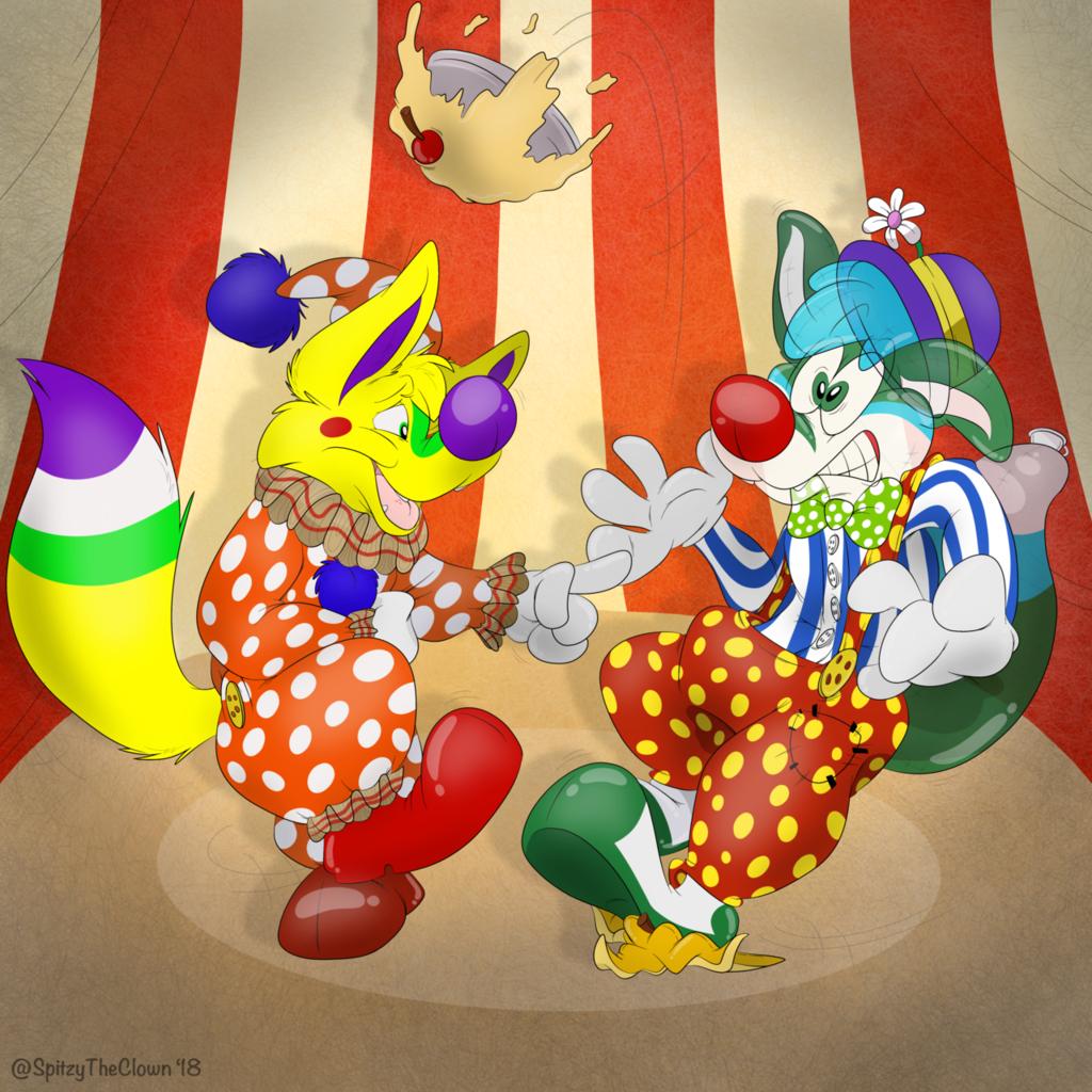 Hype and Avy Clowns
