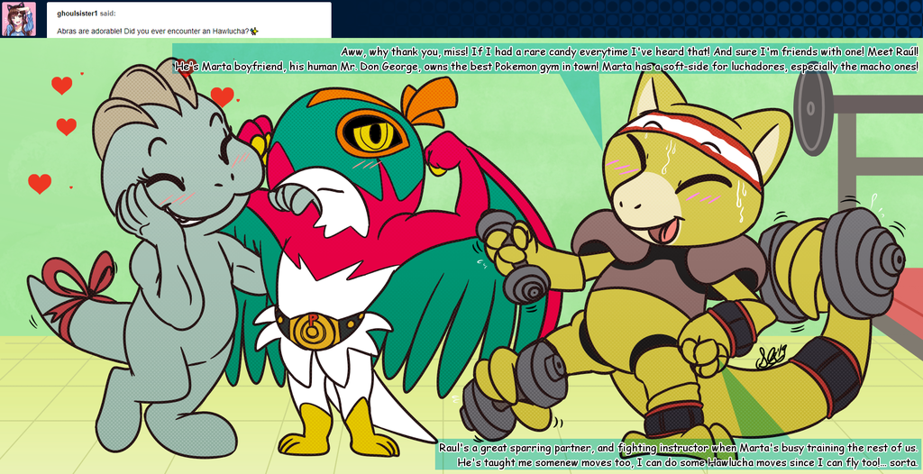 Most recent image: AAAAsk Abra and Mew question #244
