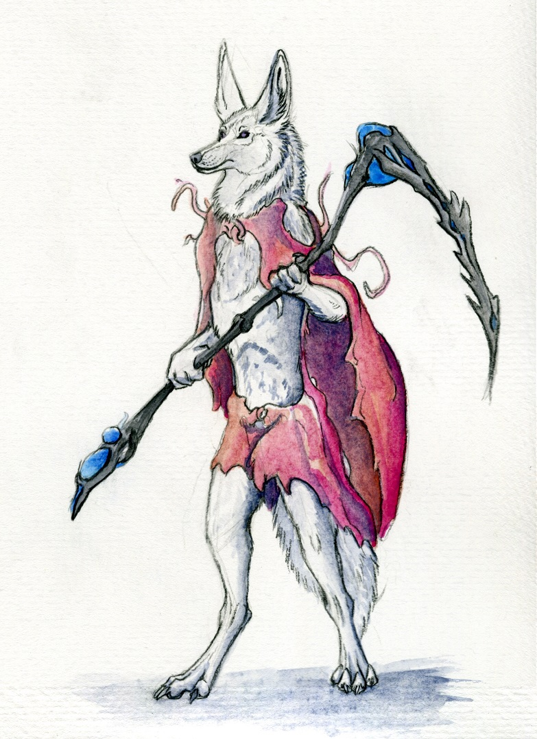 Most recent image: Itoa Zorrah Watercolor