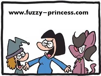 THE FUZZY PRINCESS (2-20-2019)