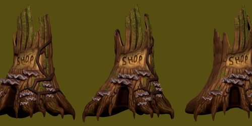 Tree Stump Shop