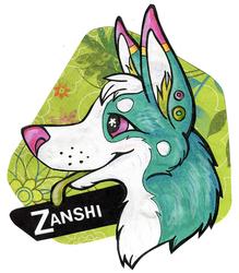 Badge for Zanshi