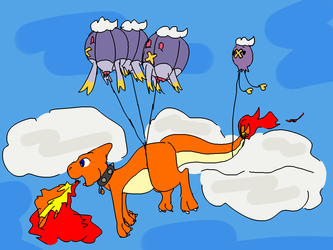 How a Charmeleon Can Learn Fly - by imperfectflame & Me