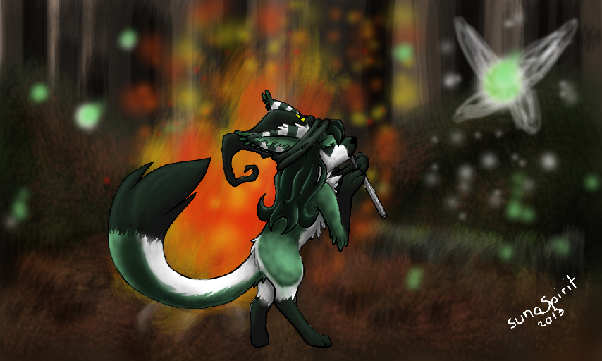 Most recent image: Witch of the forests