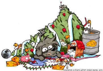 Daily Newf 359 - Merry Cowtatomess