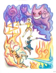 Pokemon Master - Commission
