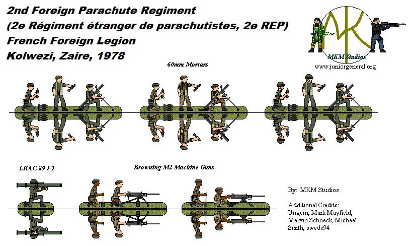 Kolwezi 1978 - Foreign Legion 2