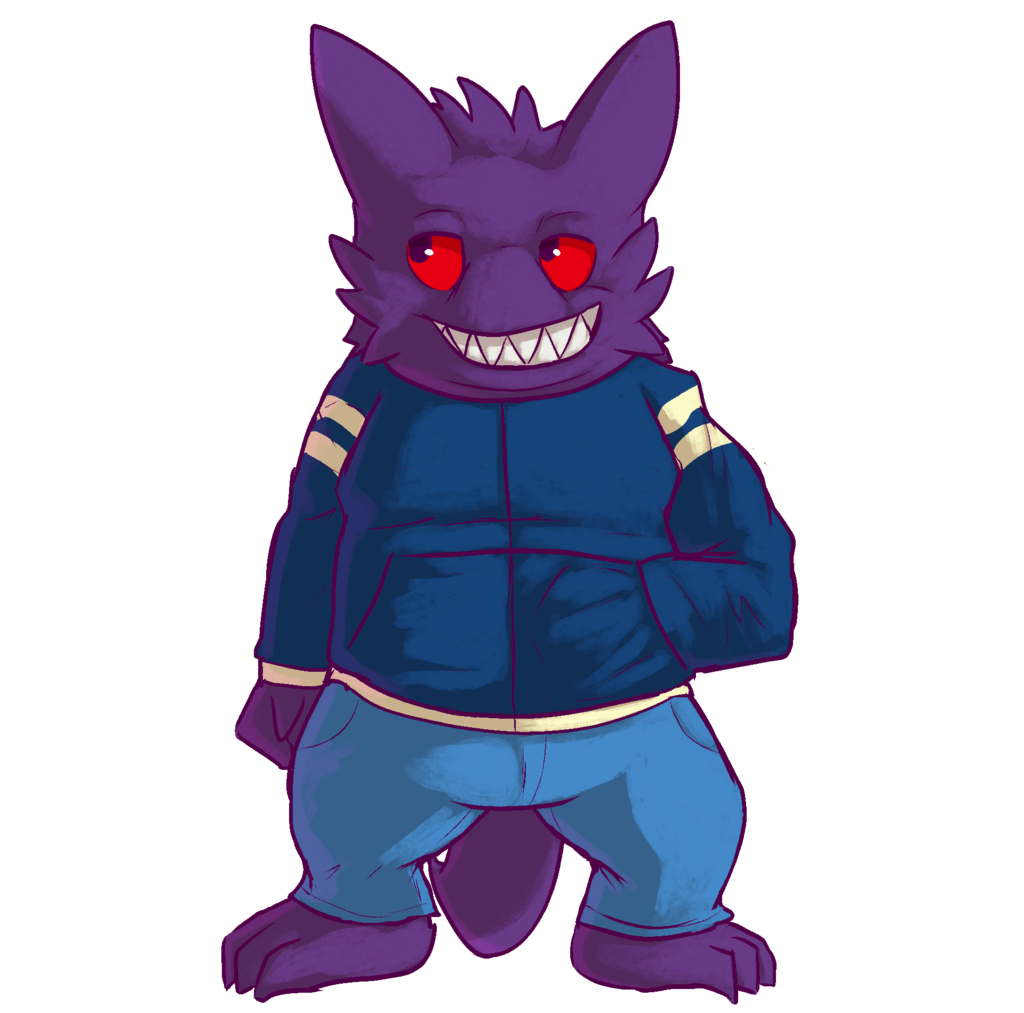 Most recent image: an off-model Gengar