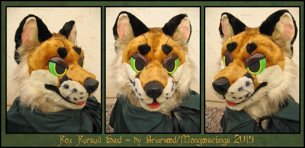 Fox Fursuit Head- Finished!