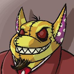 Malevolent Sentient Boss Plushie Poogle