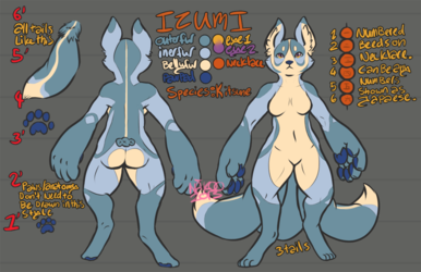Character Reference: Izumi