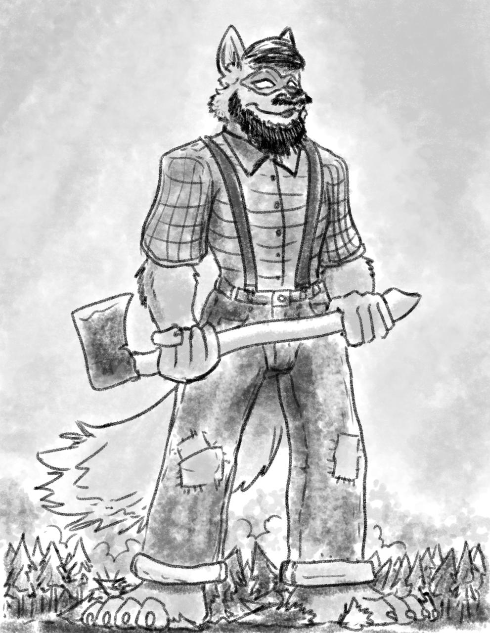 KD's a Lumberjack...