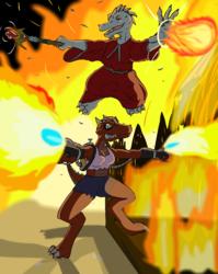 Yip-Tan and Zipa Being Kobolds